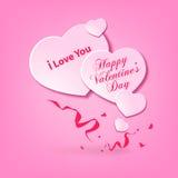 Fond du jour de Valentine Photographie stock libre de droits