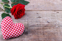 Fond du jour de Valentine Photos stock