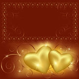 Fond du jour de Valentine avec la place pour le texte Image libre de droits