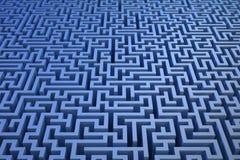 fond du labyrinthe 3D illustration libre de droits