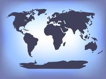 Fond du monde Images stock