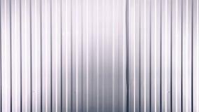 Fond du mur ondulé blanc en métal illustration de vecteur
