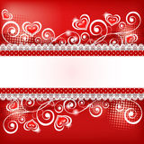 Fond 5 du ` s de Valentine Images stock