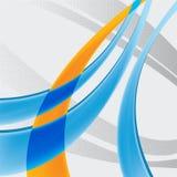 Fond dynamique Image stock