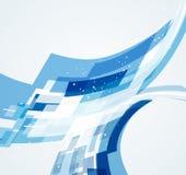 Fond dynamique abstrait Image libre de droits