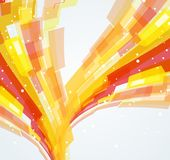 Fond dynamique abstrait Images stock