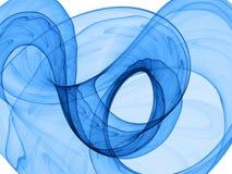 Fond dynamique bleu Photographie stock