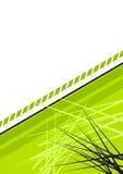 Fond en épi vert illustration de vecteur