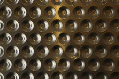 Fond en acier abstrait Photographie stock libre de droits