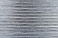 Fond en acier abstrait industriel La texture du nouvel alu photographie stock