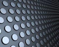 Fond en acier argenté abstrait Photo libre de droits