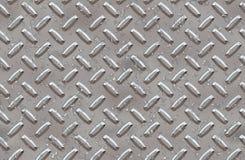 Fond en acier de plaque de diamant Image stock