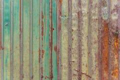 Fond en acier de surface de texture de mur de rouille en métal photographie stock