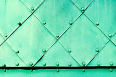 Fond en acier industriel Photo libre de droits