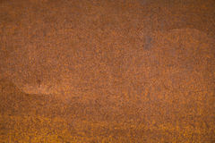 Fond en acier rouillé de texture Photo libre de droits
