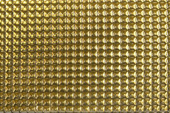 Fond en aluminium abstrait de texture d'or photo stock