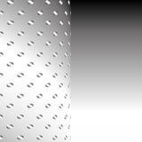 Fond en aluminium de maille en métal Image stock