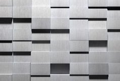 Fond en aluminium de pointe image libre de droits