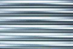 Fond en aluminium de tubes Photo libre de droits