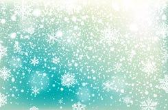Fond en baisse de neige d'hiver Élément de conception photographie stock