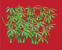 Fond en bambou illustration libre de droits