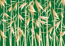 Fond en bambou abstrait Image stock