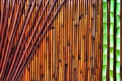 Fond en bambou asiatique Image stock