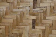 Fond en bambou en bois Photo libre de droits