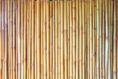 Fond en bambou de barrière Photos libres de droits