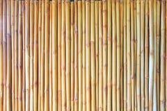 Fond en bambou de barrière Images stock