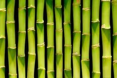Fond en bambou de cheminée Image libre de droits