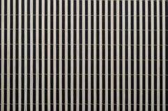 Fond en bambou de couvre-tapis Photographie stock libre de droits