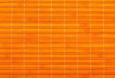Fond en bambou de couvre-tapis Photographie stock