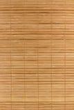 Fond en bambou de couvre-tapis Images libres de droits