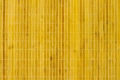 Fond en bambou de couvre-tapis Images stock