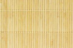Fond en bambou de couvre-tapis Photos libres de droits