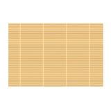 Fond en bambou de couvre-tapis illustration de vecteur