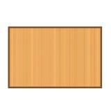 Fond en bambou de couvre-tapis illustration stock