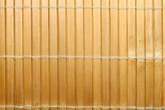 Fond en bambou de tapis Images libres de droits