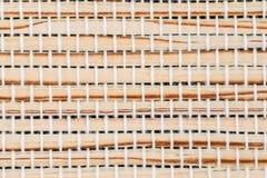 Fond en bambou de texture Image libre de droits