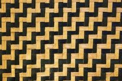 Fond en bambou de texture Images stock