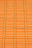 Fond en bambou de texture de tapis Image libre de droits
