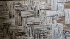 Fond en bambou fait image stock