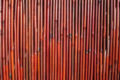 Fond en bambou foncé Photos libres de droits