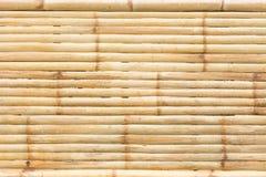 Fond en bambou jaune grunge et texture Images libres de droits
