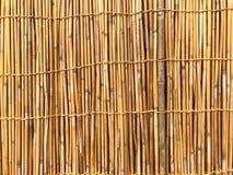 Fond en bambou Mur japonais images libres de droits