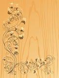 Fond en bois Images libres de droits