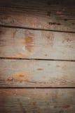 Fond en bois abstrait avec des filets de peinture de couleur Images stock