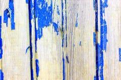 Fond en bois antique avec la peinture La peinture du soleil presque a épluché  Profondeur de coupe Photographie stock