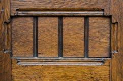 Fond en bois antique de porte Photo libre de droits